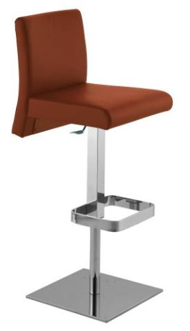 Italia Adjustable Bar Stool 6 Colours Of Leather